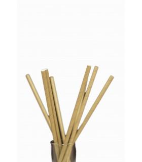 Paie biodegradabile Ø 0.6 x 23 cm, maro, 250 buc/set NATURESSE