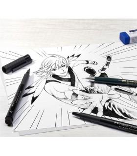 Set starter Pitt Artist Pen Manga FABER-CASTELL