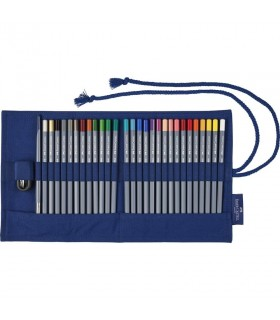 Creioane colorate 27 buc/set Goldfaber Aqua Rollup FABER-CASTELL