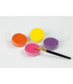 Set machiaj fata copii, 4 culori, Fluturi EBERHARD FABER