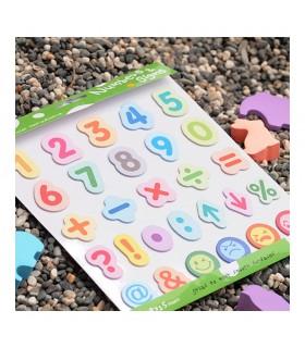 Set educativ Numbers & Signs STICK'N