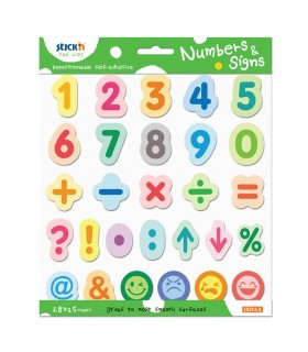 Set educativ Numbers & Signs STICK'N