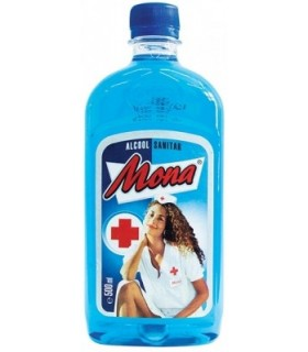 Alcool sanitar concentratie 70% 500 ml MONA