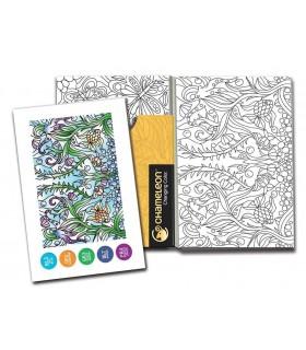 Carte de colorat Color Cards - Reflections CHAMELEON