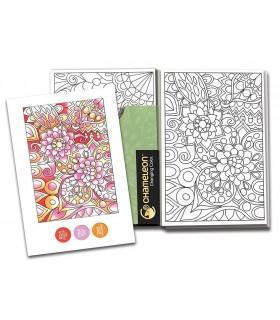Carte de colorat Color Cards - Patterns CHAMELEON