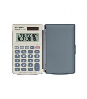 Calculator de buzunar 8 digiti EL-243S gri SHARP