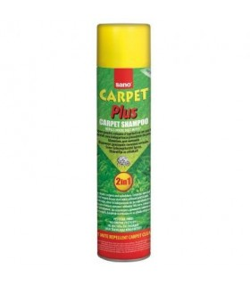 Spray spuma covoare si tapiterii 600 ml SANO Carpet Plus 2 in 1