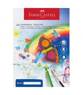 Bloc desen A4 20 file 100 g/mp FABER-CASTELL