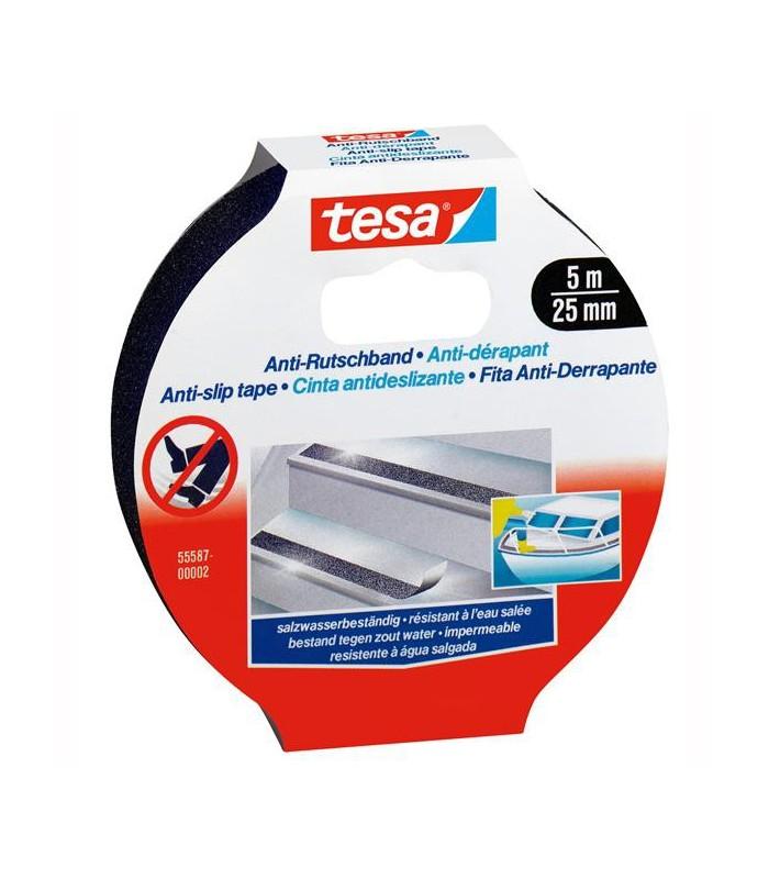 Banda adeziva antialunecare 25 mm x 15 m TESA