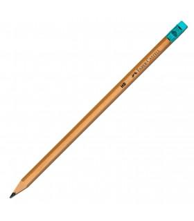 Creion grafit HB cu guma Natur FABER - CASTELL