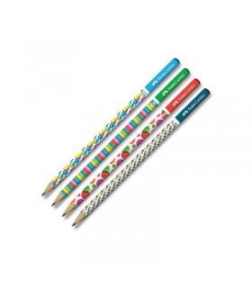 Creion grafit HB Bubbles FABER - CASTELL