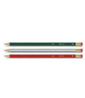 Creion grafit HB cu guma Basic ADEL