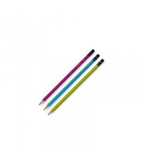 Creion grafit HB cu guma Basic 2019 ADEL