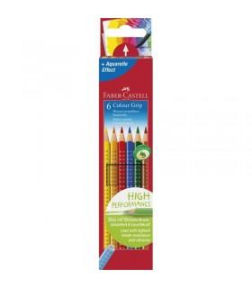 Creioane colorate acuarela GRIP 2001 FABER-CASTELL