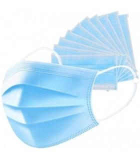 Masca de protectie, unica folosinta, 3 straturi, 50 buc/set