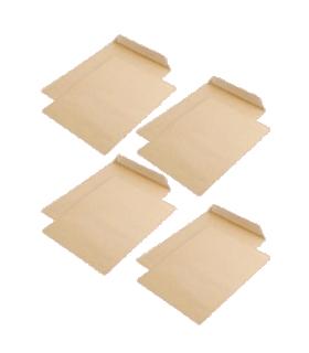 Pachet PROMO 250 plicuri B4 siliconice, burduf 30 mm, 250 x 353 mm, kraft, GPV