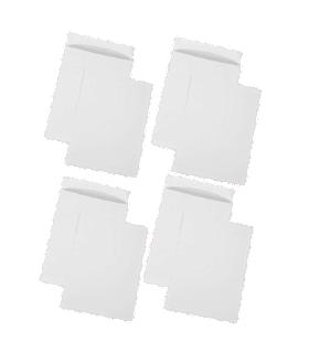 Pachet PROMO 250 plicuri C4 siliconice, 100 g/mp, 229 x 324 mm, albe GPV