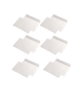 Pachet PROMO 1000 plicuri C6 siliconice, 80 g/mp, 114 x 162 mm, albe GPV