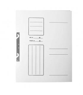 Dosar de incopciat din carton A4 1/1 alb