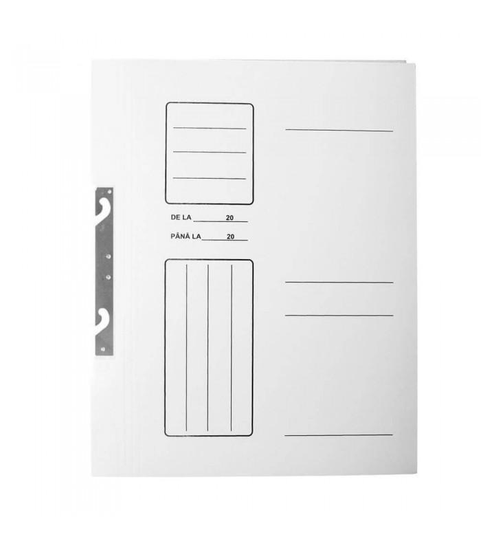 Dosar carton de incopciat 1/1 alb A4