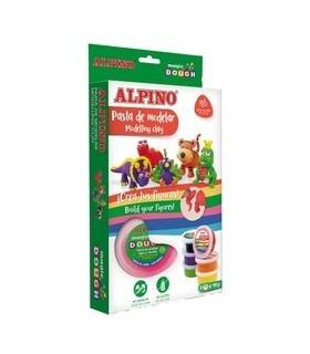 Kit 6 culori x 40gr plastilina magica Funny Animals ALPINO
