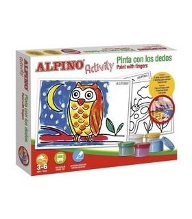 Set creativ pentru copii, Activity - Paint with the finger ALPINO