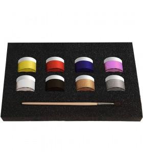 Make-up lichid 8 culori x 10 gr Fiesta ALPINO