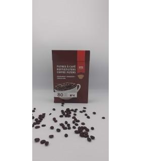Hartie filtru cafea nr. 4 80 bucati/cutie