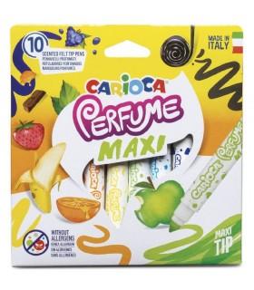 Carioca lavabila parfumata 10 culori/cutie Perfume Maxi CARIOCA