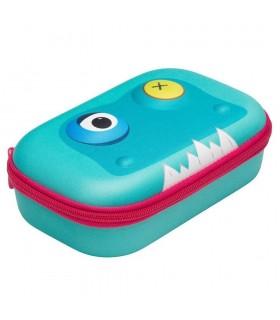 Penar cu fermoar Beast Storage box bleu ZIPIT