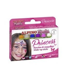 Creioane machiaj 6 culori/cutie Princess ALPINO