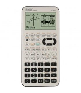 Calculator grafic 827 functiuni EL-9950L - alb/negru SHARP