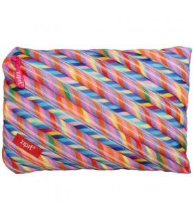 Penar cu fermoar Colorz Jumbo - multicolor dungi ZIPIT