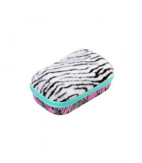 Penar cu fermoar Fur - zebra ZIPIT