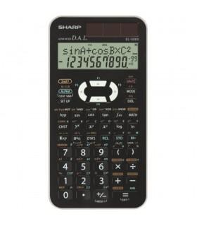 Calculator stiintific 10 digits 470 functiuni 161x80x15 mm dual power EL-506XBWH - alb SHARP