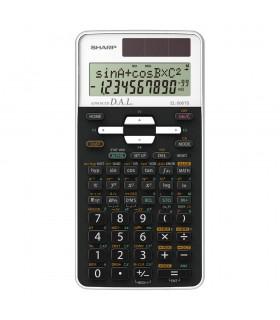 Calculator stiintific 12 digits 470 functiuni 161x80x15 mm dual power EL-506TSWH - alb SHARP