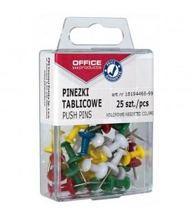 Pioneze panou pluta 25 bucati/cutie Office Products