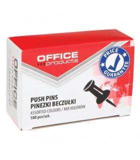 Pioneze panou pluta 100 bucati/cutie Office Products