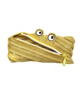 Penar cu fermoar Monster Special Edition auriu ZIPIT