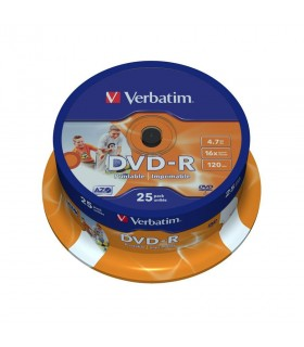 DVD-R Printabil 25 buc/bulk VERBATIM