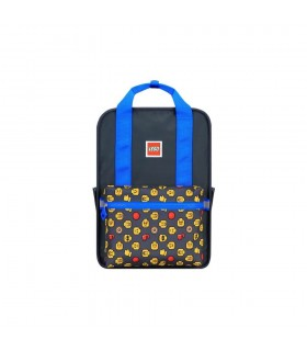 Rucsac Casual Tribini Fun Large - design Heads and Cup - albastru LEGO