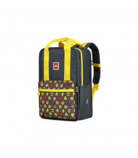 Rucsac Casual Tribini Fun Large - design Heads and Cup - galben LEGO