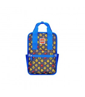 Rucsac Casual Tribini Fun Small - design Heads and Cup - albastru LEGO
