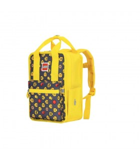 Rucsac Casual Tribini Fun Small - design Heads and Cup - galben LEGO