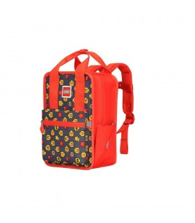 Rucsac Casual Tribini Fun Small - design Heads and Cup - rosu LEGO