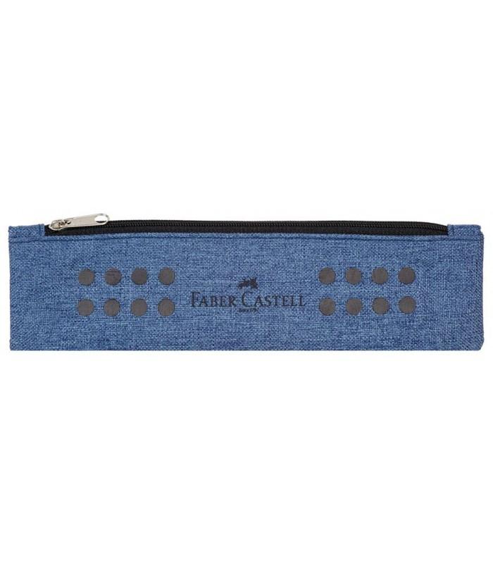 Etui instrumente de scris Grip Melange FABER CASTELL