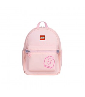 Rucsac Casual Tribini Joy Small - design Emoji - roz pastel LEGO
