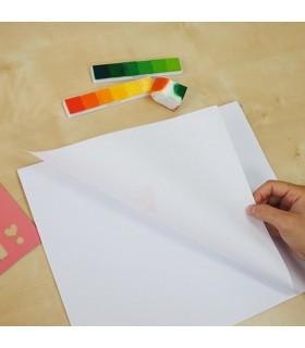 Bloc desen autoadeziv 24 file/set Art Pad - alfabet Stick