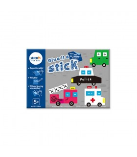 "Carte creativa  Give it a Stick -patrate  Stick""n"