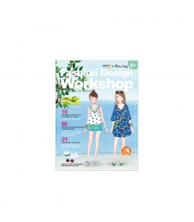 "Carte creativa Little Designer Activity book - Sunny Island  Stick""n"